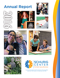2016 Schurig Center Annual Report Cover Image