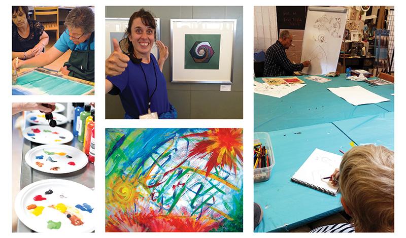 Art Program Photo Collage