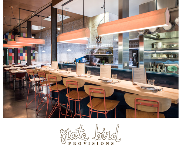 State Bird Provisions Restaurant Photo