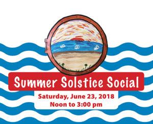 Summer Solstice Social graphic