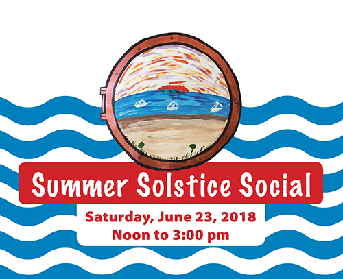Summer Solstice Social graphic