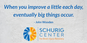 Improve a little each day quote