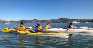 Photo of kayakers