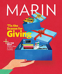 Image of Marin Magazine's December 2018 issue