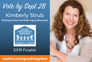 YOUR VOTED NEEDED… Kimberly Strub, Schurig Center Volunteer Honored as Good Neighbor Finalist