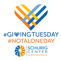 Giving Tuesday Schurig Center logo